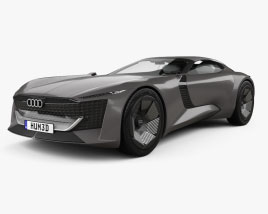 Audi Skysphere 2022 Modello 3D