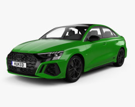 Audi RS3 sedan 2021 3D model