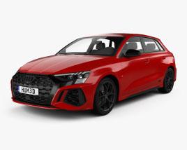 Audi RS3 sportback 2021 3D-Modell