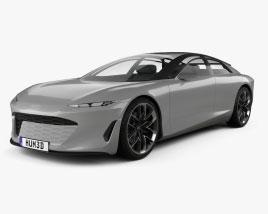 Audi Grandsphere 2021 Modelo 3d