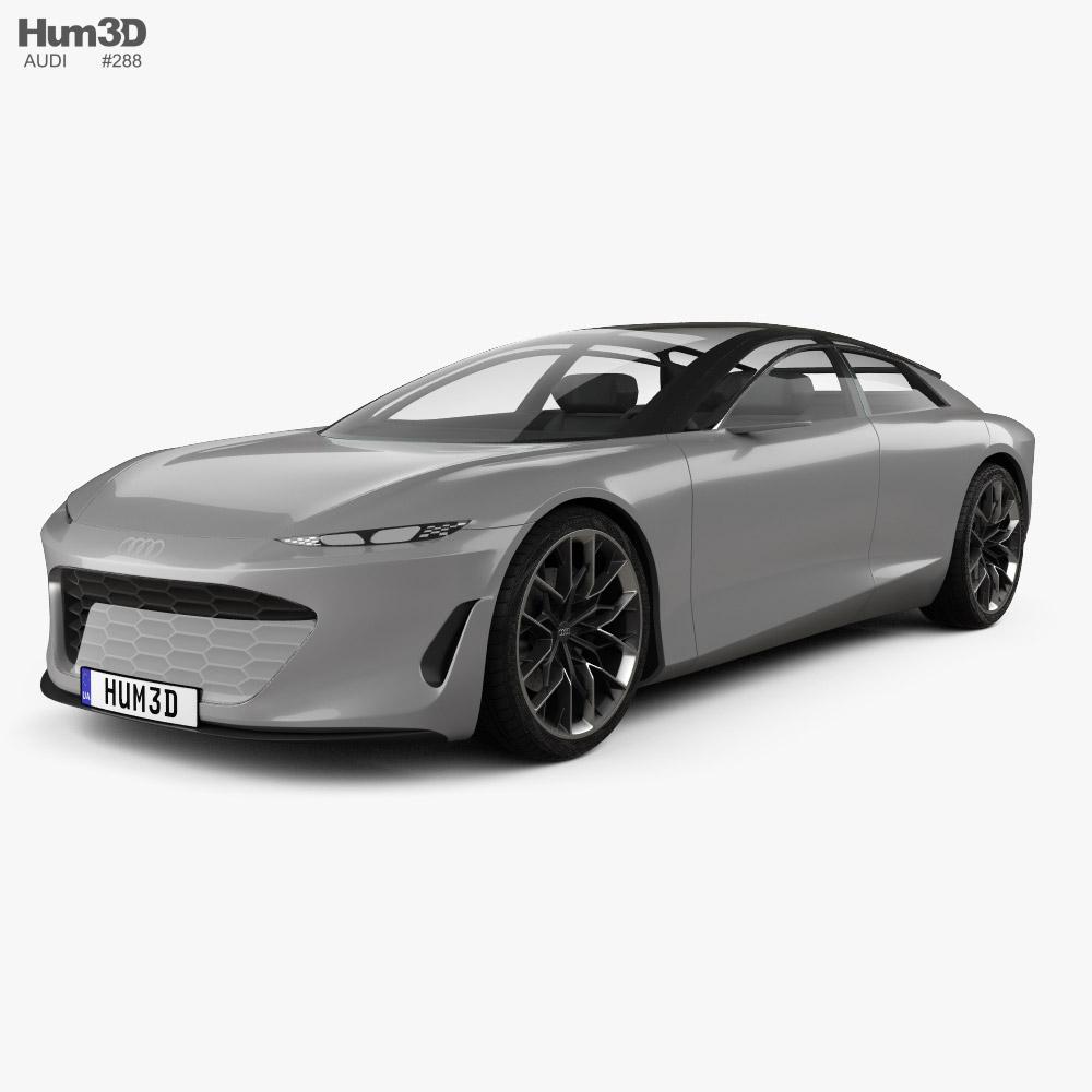 Audi Grandsphere 2021 3D model