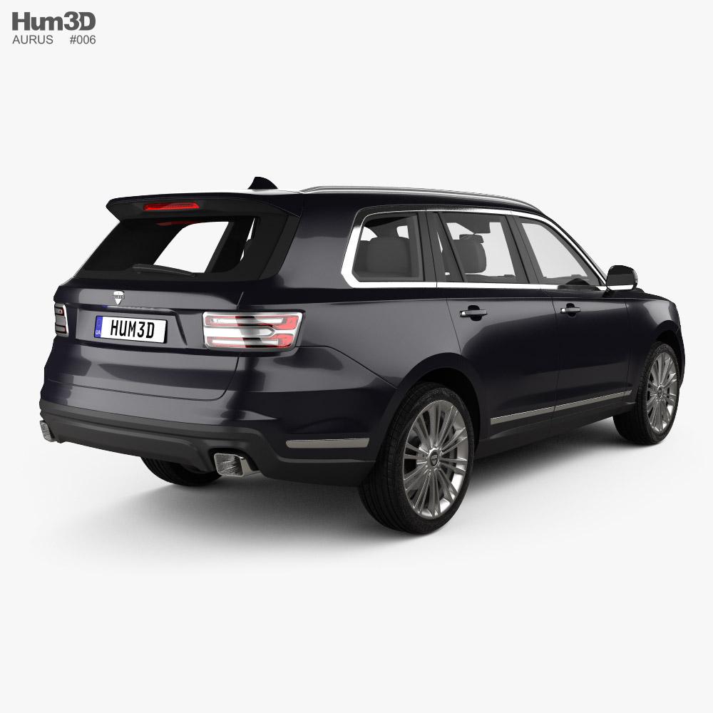 Aurus Komendant 2020 3d model