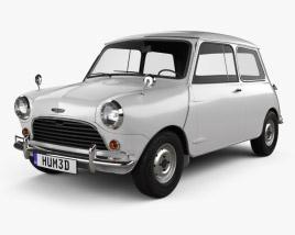 3D model of Austin Mini Cooper S 1964