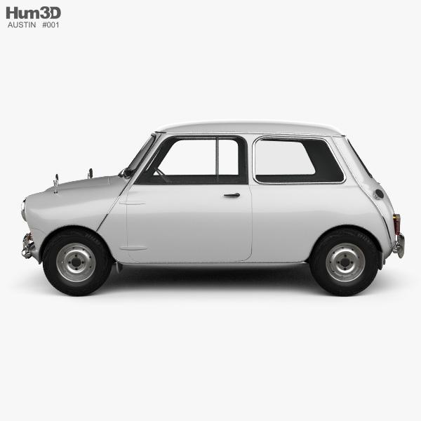 Austin Mini Cooper S 1964 3D model