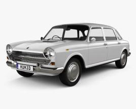 3D model of Austin 1800 1964