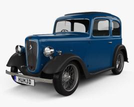 Austin 7 Ruby 1934 3D model