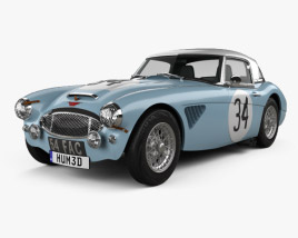 3D model of Austin-Healey 3000 Rally 1964