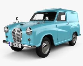 Austin A35 Van 1956 3D model
