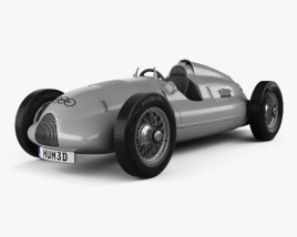 3D model of Auto Union Type D 1938