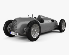 Auto Union Typ C 1936 3D model