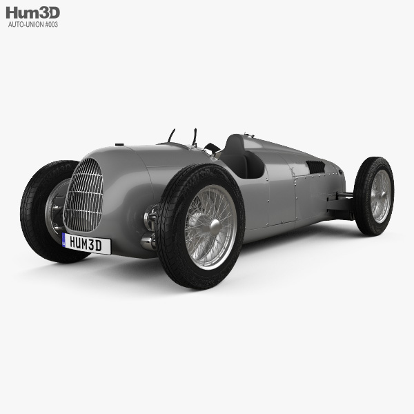 3D model of Auto Union Typ C 1936