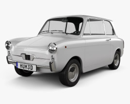 3D model of Autobianchi Bianchina Berlina 1962