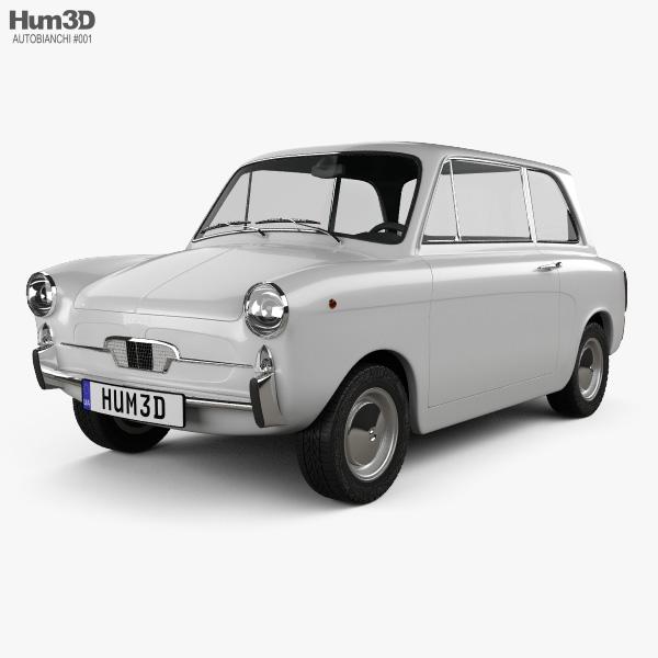 3D model of Autobianchi Bianchina Berlina 1962
