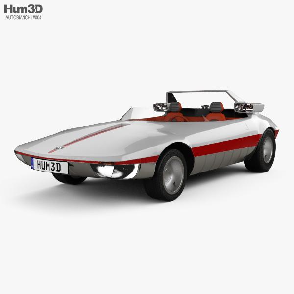 3D model of Autobianchi Runabout Bertone 1969