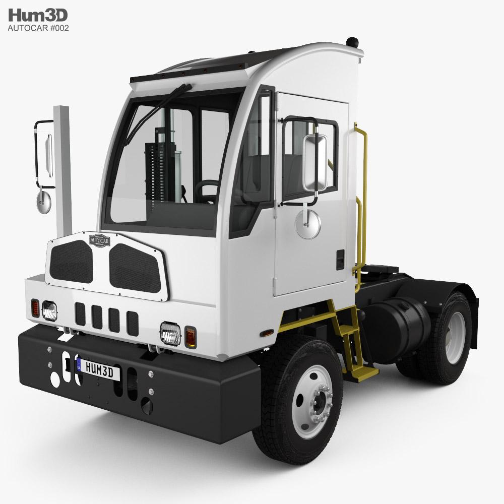 Autocar ACTT Terminal Tractor Truck 2021 3D model