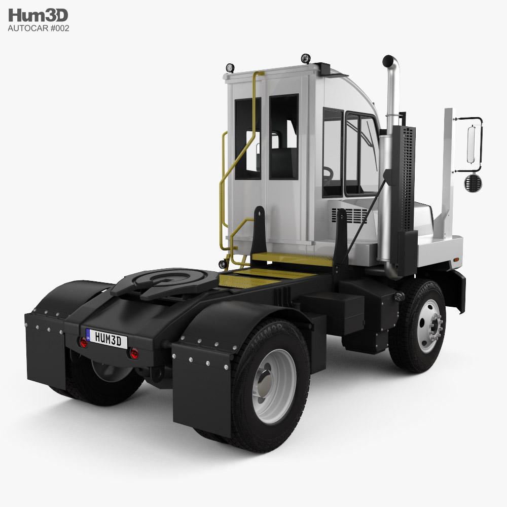 Autocar ACTT Terminal Tractor Truck 2021 3d model back view