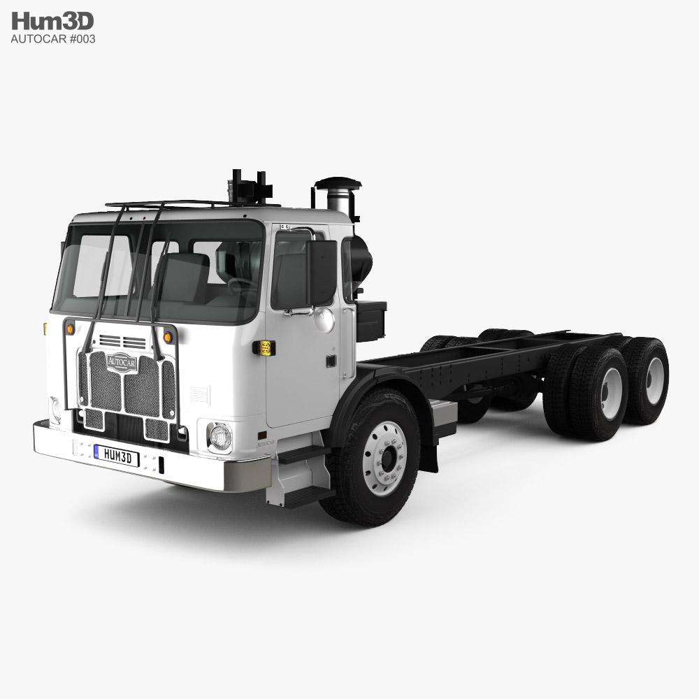 Autocar ACX Chassis Truck 2021 3D model