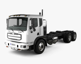 Autocar ACMD 2306 Chassis Truck 2021 3D model