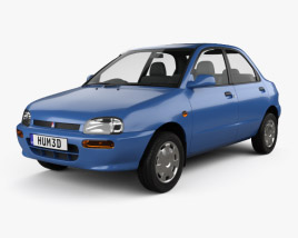 3D model of Autozam Revue 1990