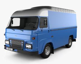 3D model of Avia A21T Van 1993