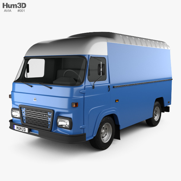 Avia A21T Van 1993 3D model