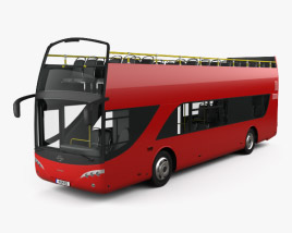 3D model of Ayats Bravo I City Double Decker Bus 2012