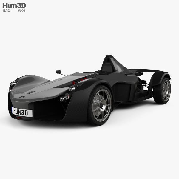 BAC Mono 2017 Modello 3D