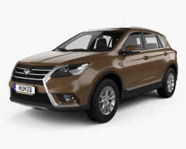3D model of BAIC Huansu S6 2015