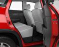 BAIC Huansu S5 with HQ interior 2017 3d model