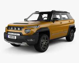 3D model of BAIC BJ20 2017