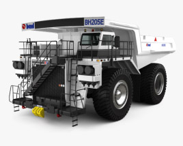 3D model of BEML BH205E-AC Dump Truck 2015
