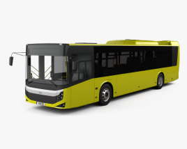 3D model of BMC Procity Bus 2017