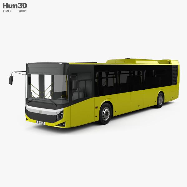 BMC Procity Bus 2017 3D model