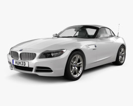 3D model of BMW Z4 with HQ interior 2010