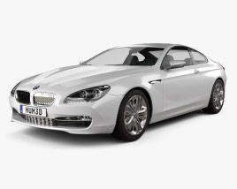 3D model of BMW 6 Series Coupe Concept 2010