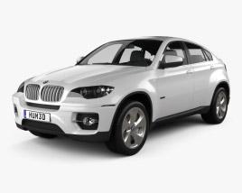 3D model of BMW X6 2011