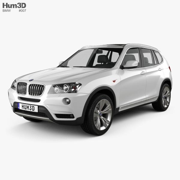 3D model of BMW X3 2011
