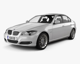 3D model of BMW 3 Series Sedan 2011