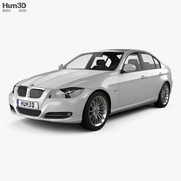3D model of BMW 3 Series Sedan 2011