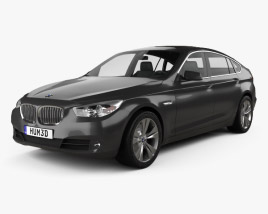 3D model of BMW 5 series Gran Turismo 2011