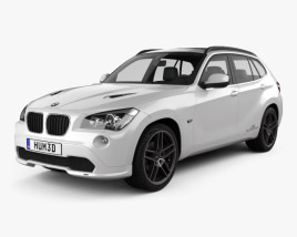 3D model of BMW X1 2010 AC Schnitzer