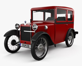 3D model of BMW DiXi 1928