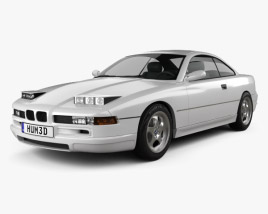 3D model of BMW 8 Series (E31) 1999