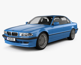 3D model of BMW 7 Series B12 Alpina 1999