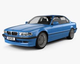 3D model of BMW 7 Series B12 Alpina 1999