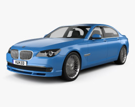 3D model of BMW 7 Series B7 Alpina 2011