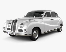 3D model of BMW 501 Saloon 1952