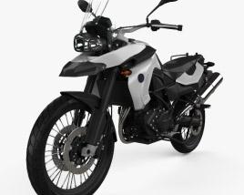 3D model of BMW F800GS 2008