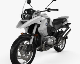 3D model of BMW R1200GS 2004