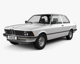 3D model of BMW 3 Series coupe (E21) 1975